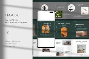 Hause Carousel Instagram Template Graphic Scene Generators By Wild Space