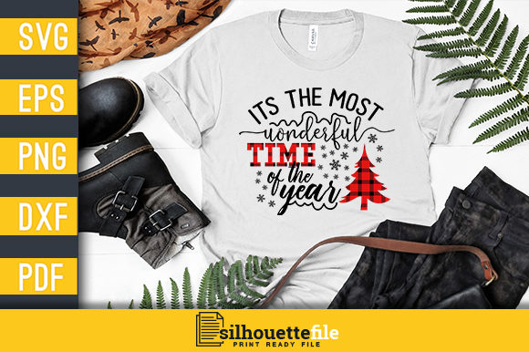 Print on Demand: It's the Most Wonderful Time of the Year Graphic Crafts By Silhouettefile