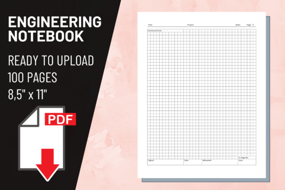 Print on Demand: KDP Interior Engineering Notebook Graphic KDP Interiors By atlasart