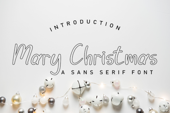 Print on Demand: Merry Christmas Display Font By giatstudios