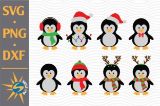 Print on Demand: Penguin Christmas Graphic Crafts By SVGStoreShop
