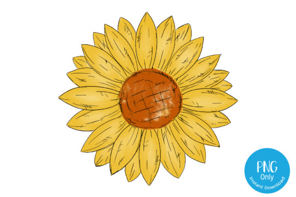 Print on Demand: Sunflower - Sublimation Graphic Crafts By Tori Designs