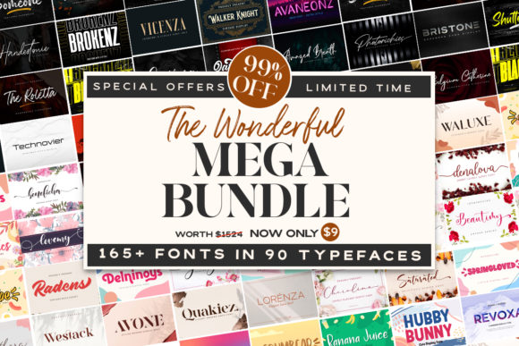 Print on Demand: The Wonderful Mega Bundle  von almarkhatype