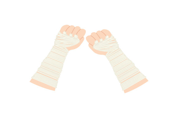 Traditional Muay Thai Gloves Sports Craft Cut File By Creative Fabrica Crafts