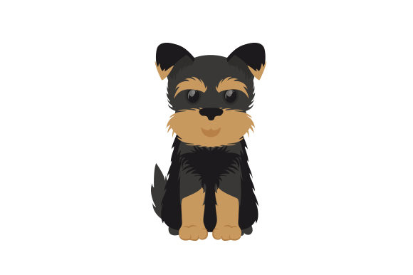 Yorkshire Terrier Dogs Craft Cut File By Creative Fabrica Crafts