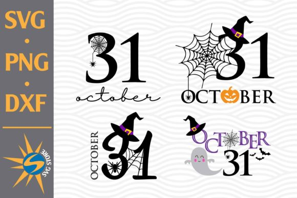 Print on Demand: 31 October Graphic Crafts By SVGStoreShop