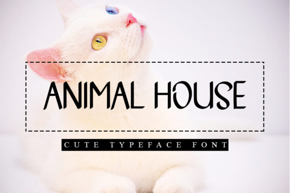 Print on Demand: Animal House Script & Handwritten Font By Inermedia STUDIO