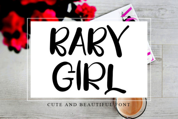 Print on Demand: Baby Girl Script & Handwritten Font By K_IN Studio