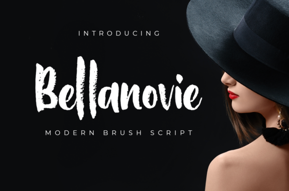 Print on Demand: Bellanovie Script & Handwritten Font By nurfdesigns