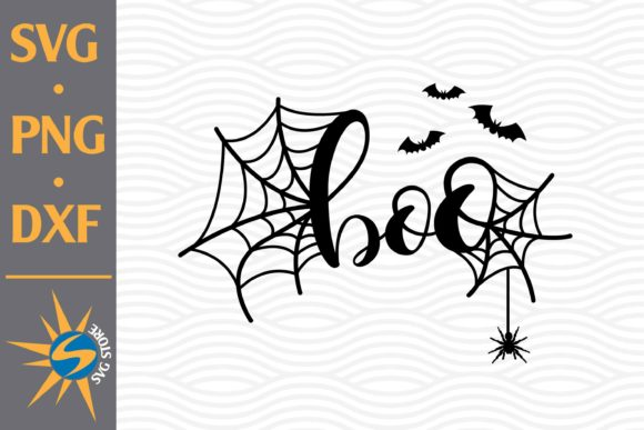 Print on Demand: Boo Halloween Graphic Crafts By SVGStoreShop