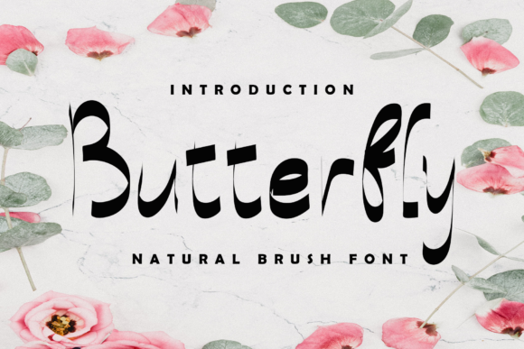 Print on Demand: Butterfly Script & Handwritten Font By giatstudios