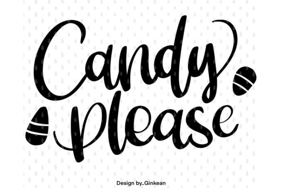 Print on Demand: Candy Please, Halloween Graphic Graphic Templates By Ginkean