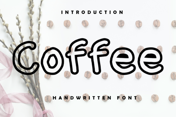 Print on Demand: Coffee Display Font By giatstudios
