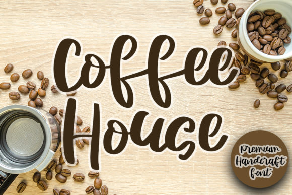 Print on Demand: Coffee House Script & Handwritten Font By Inermedia STUDIO