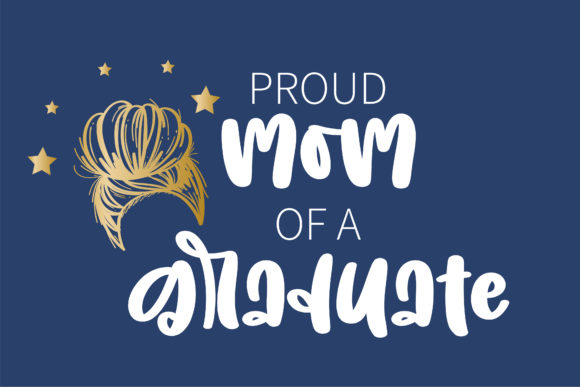 Crown of a Mom Font Preview