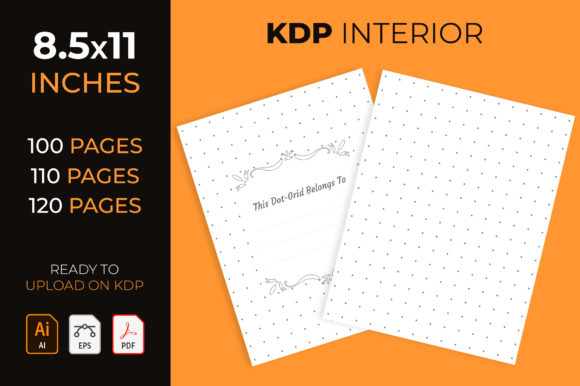 Dotted Grid - Kdp Interior Graphic KDP Interiors By medelwardi