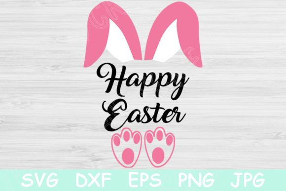 Easter Bunny Svg Happy Easter Svg Files Grafik Plotterdateien von TiffsCraftyCreations