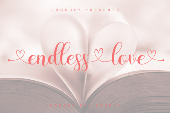 Print on Demand: Endless Love Script & Handwritten Font By thomasaradea