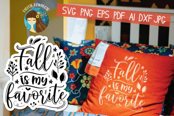 Fall is My Favorite Gráfico Crafts Por MooonLight