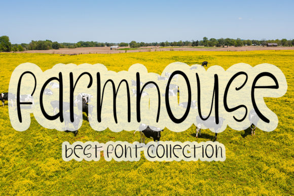 Print on Demand: Farmhouse Script & Handwritten Font By Inermedia STUDIO