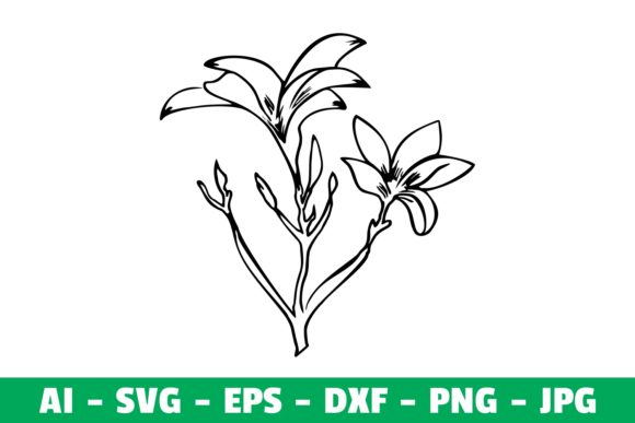 Simple Flower Outline Svg Download Free And Premium Svg Cut Files