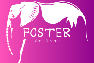 Print on Demand: Foster Display Font By AscendPrints