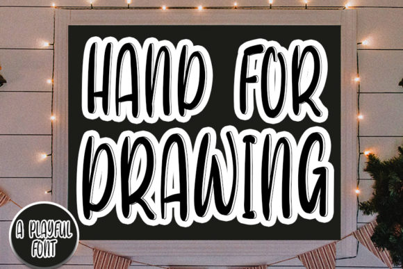 Print on Demand: Hand for Drawing Script & Handwritten Font By Inermedia STUDIO