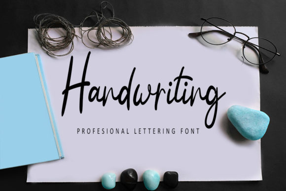Print on Demand: Handwriting Script & Handwritten Font By Inermedia STUDIO