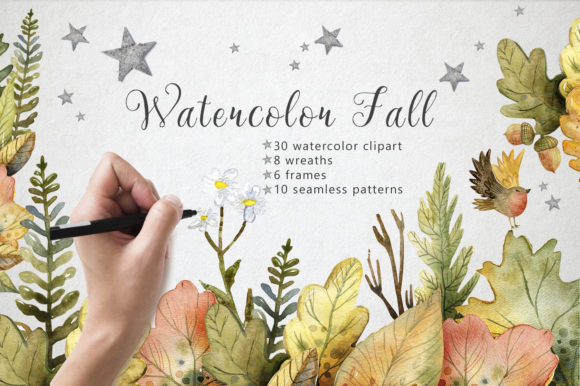 Print on Demand: Hello Autumn - Watercolor Collection Graphic Illustrations By By Anna Sokol