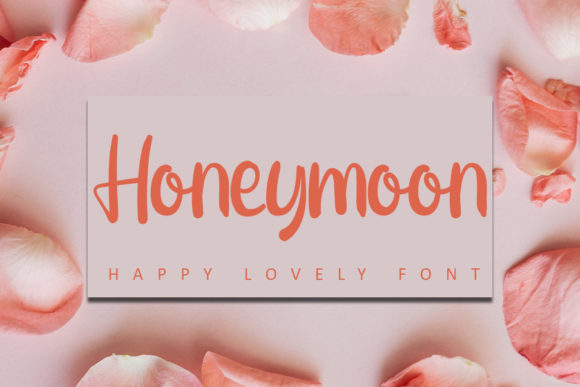 Print on Demand: Honeymoon Script & Handwritten Font By Inermedia STUDIO
