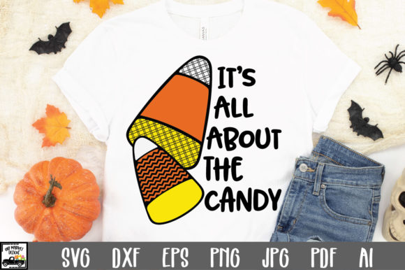 Print on Demand: It's All About the Candy Graphic Crafts By oldmarketdesigns