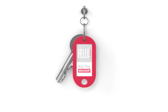 Key Tag Mockup Graphic Product Mockups By x-and-r