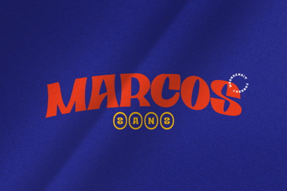 Print on Demand: Marcos Display Font By moonbandit