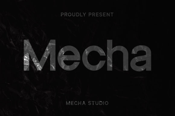 Print on Demand: Mecha Sans Serif Font By MechaStudio