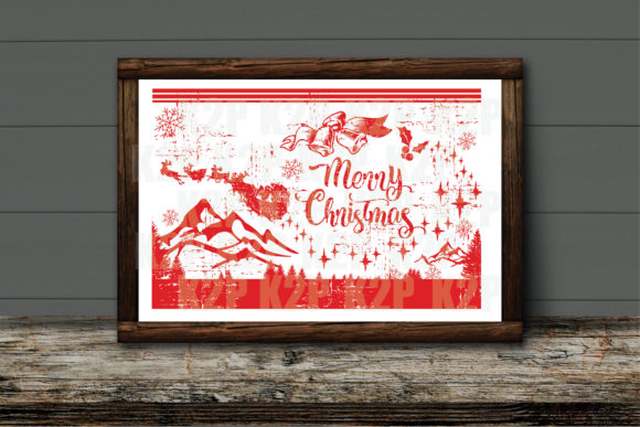 Print on Demand: Merry Christmas Ans Happy New Year SVG Graphic Crafts By KtwoP