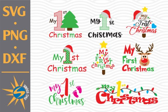 Print on Demand: My First Christmas Graphic Crafts By SVGStoreShop