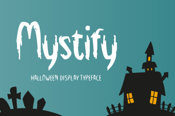 Print on Demand: Mystify Display Font By Seemly Fonts