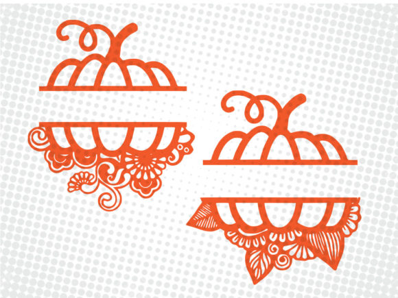 Print on Demand: Pumpkin SVG & Cut File Graphic Print Templates By johanruartist