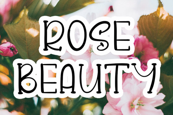 Print on Demand: Rose Beauty Script & Handwritten Font By Inermedia STUDIO