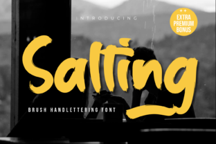 Print on Demand: Salting Script & Handwritten Font By Productype 1