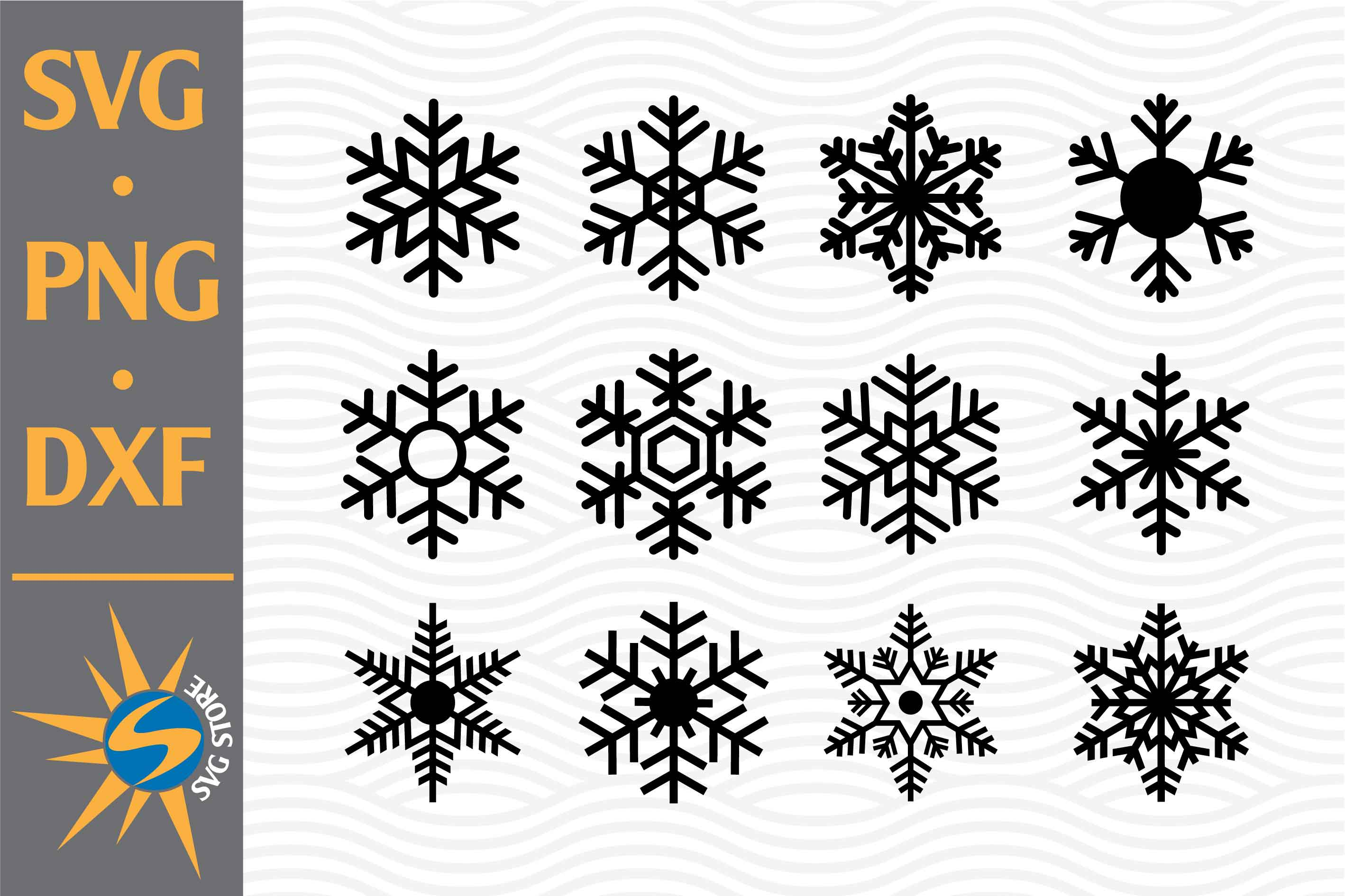 Snowflake Silhouette Graphic By Svgstoreshop Creative Fabrica See more ideas about snowflake silhouette, snowflakes, silhouette design. snowflake silhouette