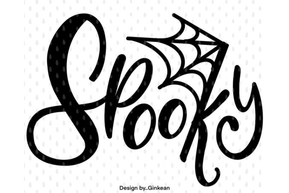 Print on Demand: Spooky, Halloween Graphic Graphic Templates By Ginkean