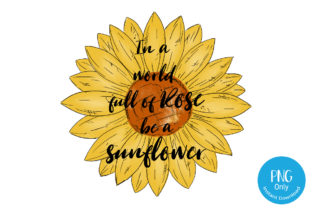 Sunflower Watercolor - Sublimation Graphic Crafts By Tori Designs