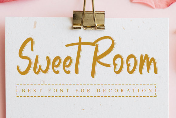 Print on Demand: Sweet Room Script & Handwritten Font By Inermedia STUDIO