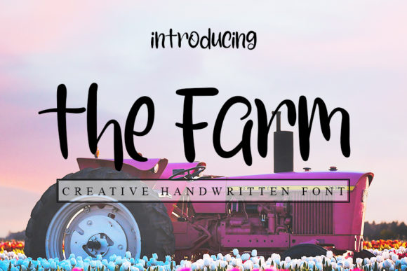Print on Demand: The Farm Script & Handwritten Font By Inermedia STUDIO