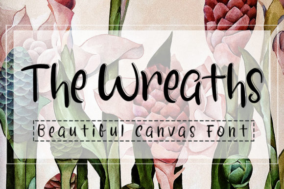 Print on Demand: The Wreaths Script & Handwritten Font By Inermedia STUDIO