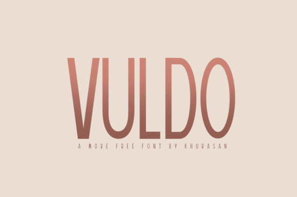 Print on Demand: Vuldo Sans Serif Font By Khurasan