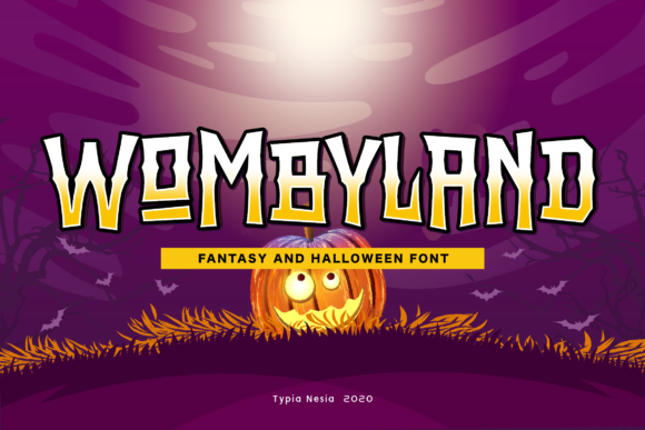 Print on Demand: Wombyland Display Font By Typia Nesia