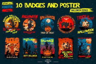 Print on Demand: 10 Badges & Poster