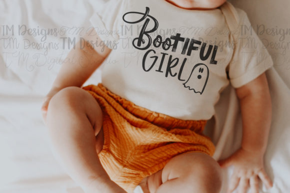 BOOtiful Girl SVG Cut File / Printable Graphic Crafts By tabitha_beam